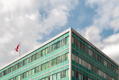 Low Angle Photography of a Building royalty free stock photography