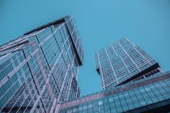 Low Angle Photography of Buildings Royalty Free Stock Photos