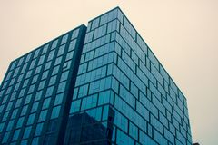 Low Angle Photography of Glass Building Royalty Free Stock Photography