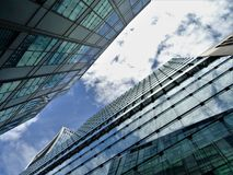 Low Angle Photography of High-rise Building Royalty Free Stock Image