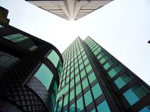 Low Angle Photography of High Rise Buildings Stock Photography