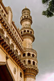 Low angle shot of Char minar Stock Photo