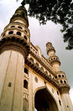Low angle shot of Char minar Royalty Free Stock Photo