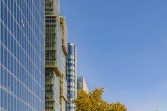 Office Buildings Las Condes District, Santiago de Chile royalty free stock images