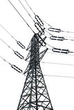 Isolated Electricity Pylon Stock Photos