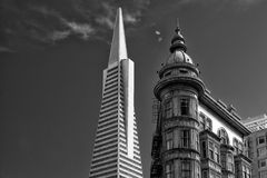 Low angle view of buildings Royalty Free Stock Image