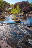 Low angle view at Edith Falls, Katherine, Australia. Stock Images