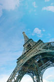 Low Angle view of Eiffel Tower Royalty Free Stock Image