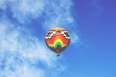 Low Angle View of Hot Air Balloon Against Sky Stock Images
