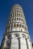 Low angle view of Leaning Tower of Pisa Royalty Free Stock Image