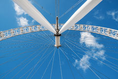 Low angle view of London Eye Royalty Free Stock Photo