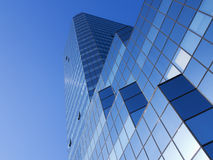 Low angle view of modern office building. Stock Photography