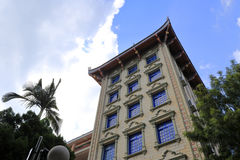 Low angle view of the nanxunlou building Royalty Free Stock Photography