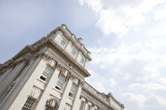 Low angle view of Old Royal Naval College, Greenwich, London Stock Photography