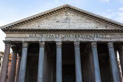 Low angle view of Pantheon Royalty Free Stock Photography