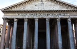 Low angle view of Pantheon Royalty Free Stock Image