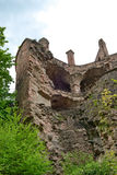 Low Angle View of Ruins of Heidelberg Castle Royalty Free Stock Photography