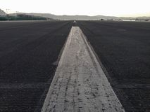 Runway Airport Gibraltar Stock Images