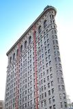 Low angle view of skyscraper, Flatiron Building, Manhattan, New Royalty Free Stock Photo