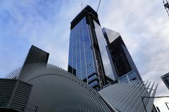 Low Angle View of Skyscrapers Against Sky Royalty Free Stock Image