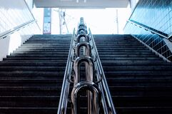 Low Angle View of Staircase Stock Images