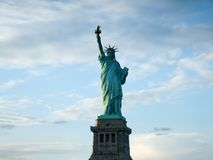 Low angle view of a statue, Statue of Liberty, Stock Photography