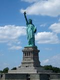 Low angle view of a statue, Statue of Liberty, Royalty Free Stock Images