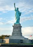 Low angle view of a statue, Statue of Liberty, Liberty Island, N Stock Photography