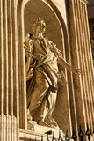 Low angle view of a statue Royalty Free Stock Image