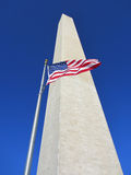 Low angle view of Washington Monument Stock Photos
