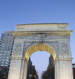 Washington Square Monument Greenwich Village, Manhattan, New York City royalty free stock photo