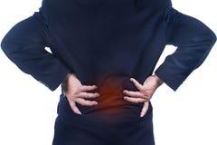 Low back pain Stock Photos