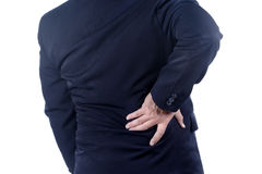 Low back pain Royalty Free Stock Image