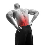 Low Back Pain Royalty Free Stock Photography