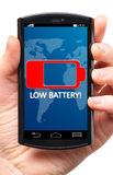 Low battery Royalty Free Stock Images