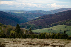 Low Beskids, Lower Beskids. The Low Beskids or Lower Beskids Polish: Beskid Niski, Slovak: Nízke Beskydy, are one of the Beskids mountain ranges in the Outer Royalty Free Stock Photos