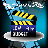 Low budget film Royalty Free Stock Images