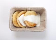 Low-calorie cheesecake Stock Photo