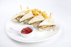 Low calorie fast food Stock Images