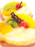 Low-calorie fruit cake Royalty Free Stock Photo