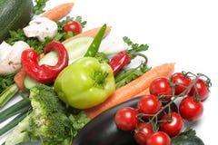 Low-calorie groenten royalty-vrije stock afbeeldingen
