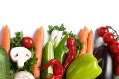 Low-calorie groenten royalty-vrije stock foto's