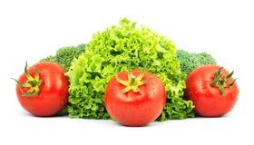 Low-calorie rauwe groenten stock fotografie