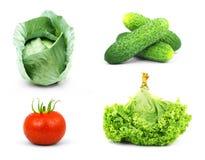 Low-calorie rauwe groenten royalty-vrije stock foto