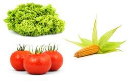 Low-calorie rauwe groenten royalty-vrije stock foto's