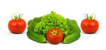 Low-calorie rauwe groenten royalty-vrije stock afbeelding