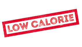 Low Calorie rubber stamp Royalty Free Stock Image
