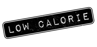 Low Calorie rubber stamp. On white. Print, impress, overprint Royalty Free Stock Photos