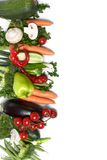 Low-calorie vegetables Stock Images