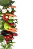 Low-calorie vegetables Stock Images